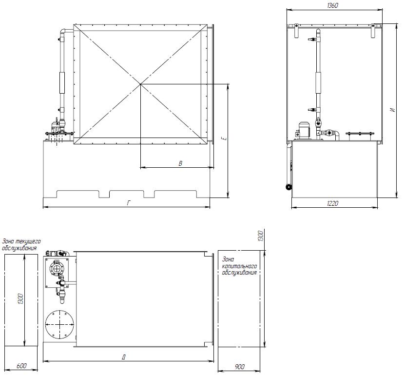 ЛЕГЕНД М - размерный ряд